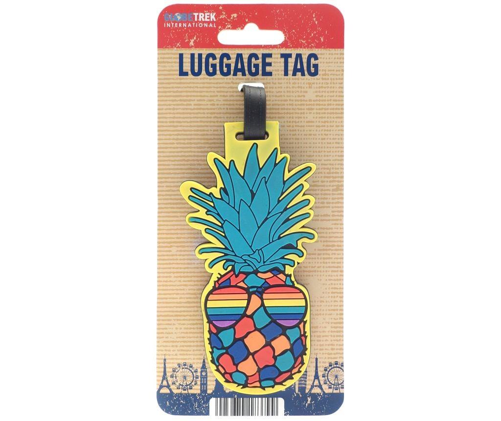 Oznaka za prtljago Cool Pineapple