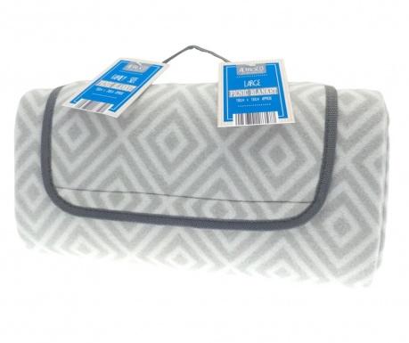 Одеяло за пикник Geo 130x130 см