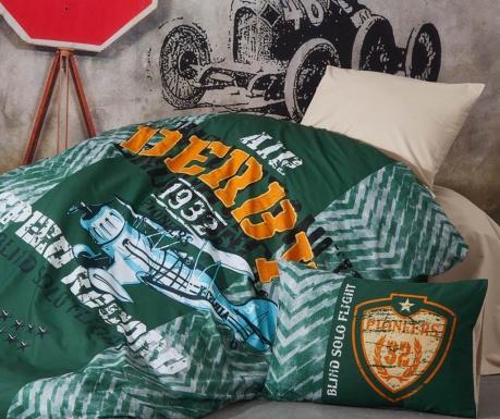 Sada ložní prádlo Single Derby Green