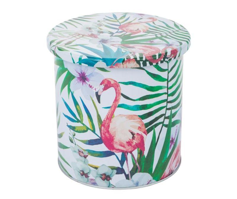Ukrasna posuda s poklopcem Flamingo