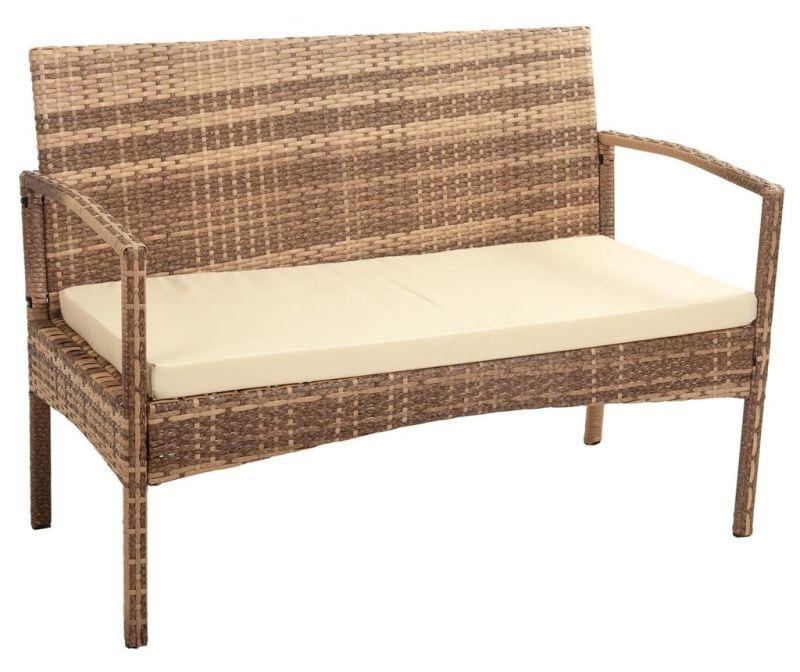 Kauč za vanjski prostor Ramy Light Brown