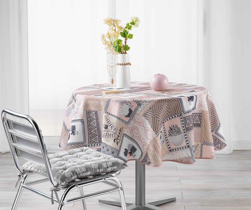 Carlota Round Grey Asztalterítő 180 cm