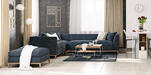 Redekorujte svůj obývací pokoj