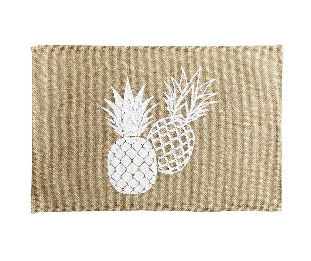 Ananas Spirit Tányéralátét 30x45 cm