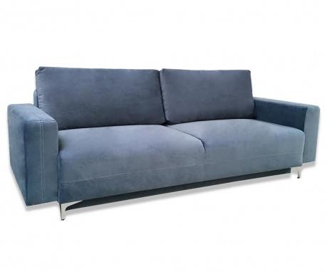 Marsylia Blue Háromszemélyes kihúzható kanapé