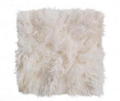 Navlaka za jastuk za sjedenje Fur Ivory 40x40 cm