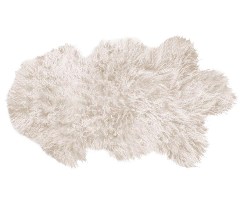 Черга Fur Mood Black 50x90 см