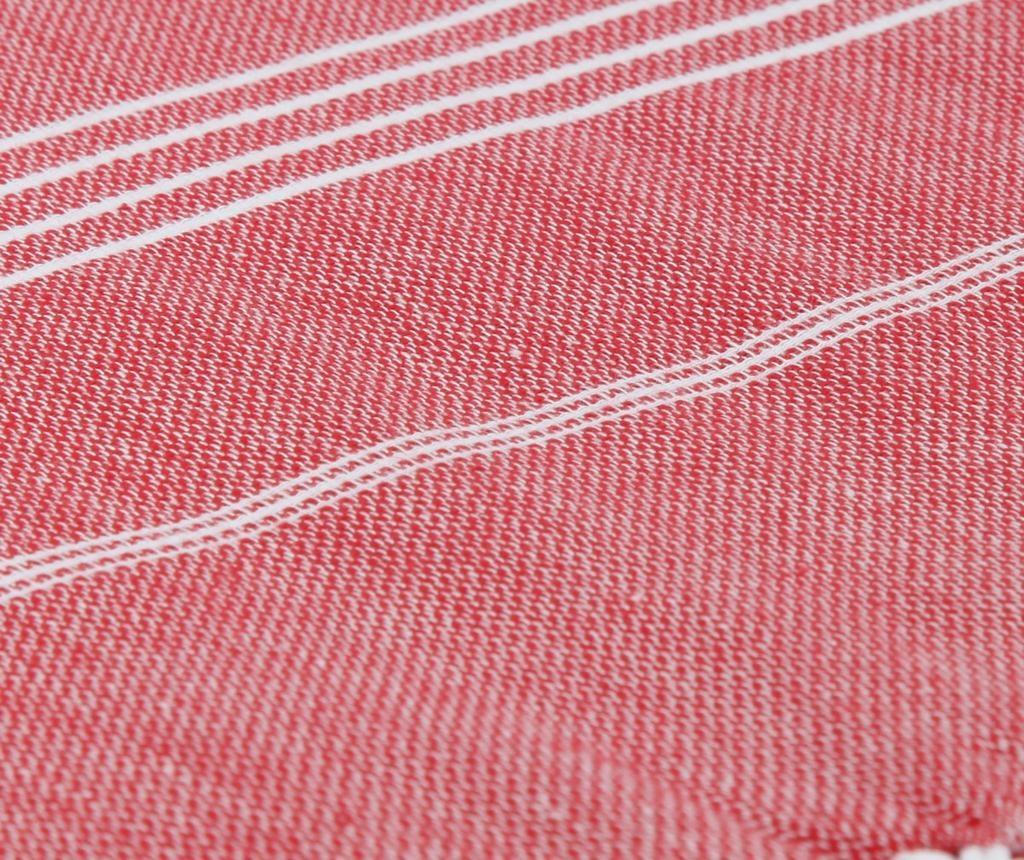 Peshtemal Breeze Red Törülköző 100x180 cm