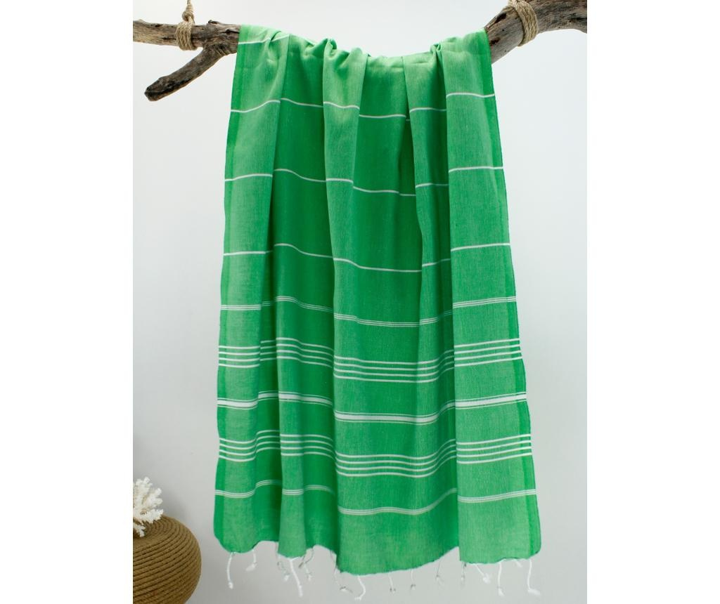 Peshtemal Breeze Green Törülköző 100x180 cm