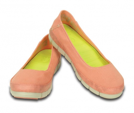 Ženske balerinke Stretch Sole Flat Pink 41-42