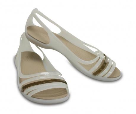 Ženski sandali Crocs Isabella Huarache Flat White 39-40