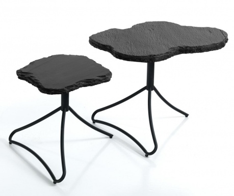 Set 2 stolića za kavu Rock