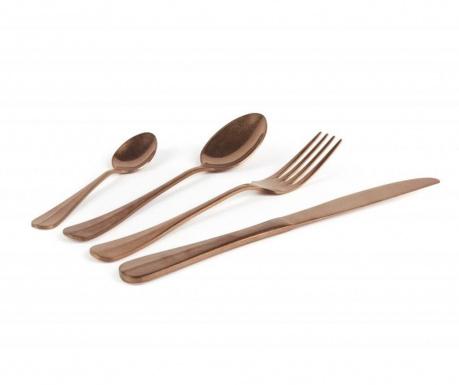 24-dijelni  pribor za jelo Vintage Copper