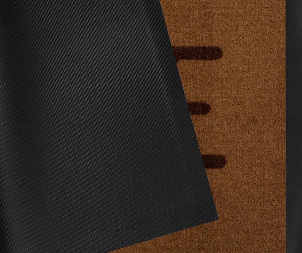 Printy Brown Lábtörlő szőnyeg 45x75 cm