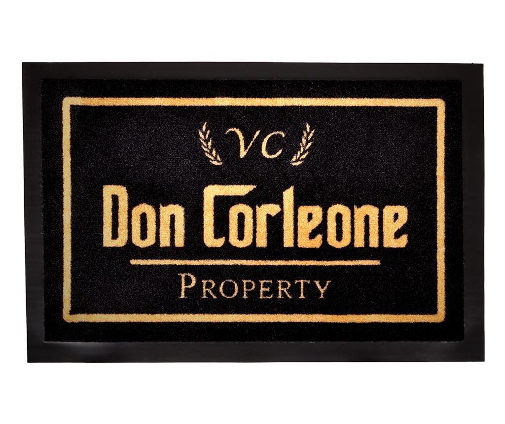 Χαλάκι εισόδου Printy Don Black Gold 40x60 cm