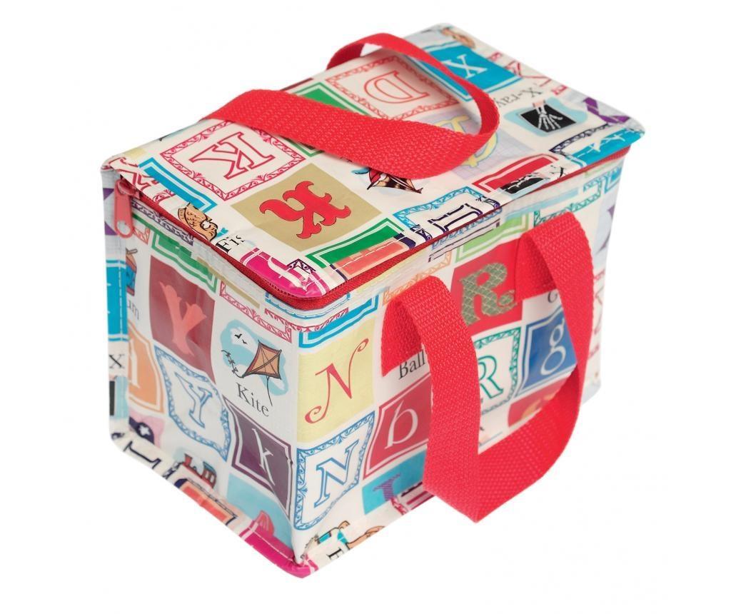 Ισοθερμική τσάντα για μεσημεριανό γεύμα Alphabet