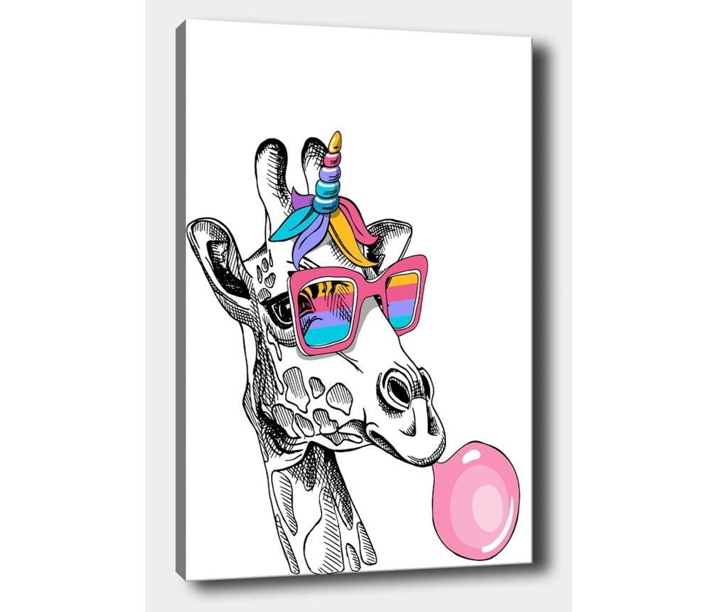 Giraffe Baloon Kép 40x60 cm