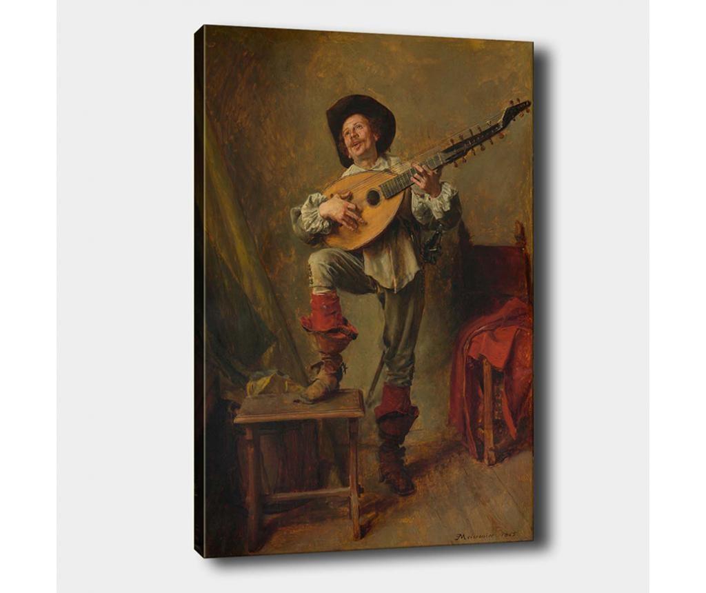 Tablou Musician Men 40x60 cm