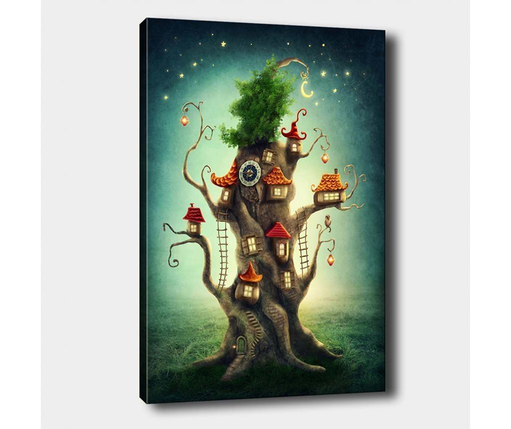 Slika Tree House 100x140 cm