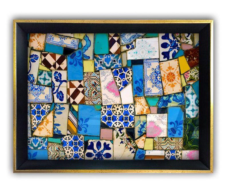 Tablou Patterned Floor 45x65 cm