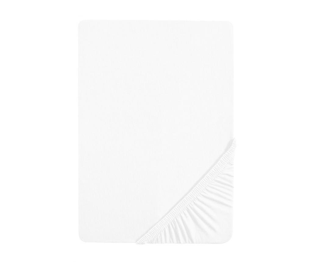 Cearsaf de pat cu elastic White 180x200 cm