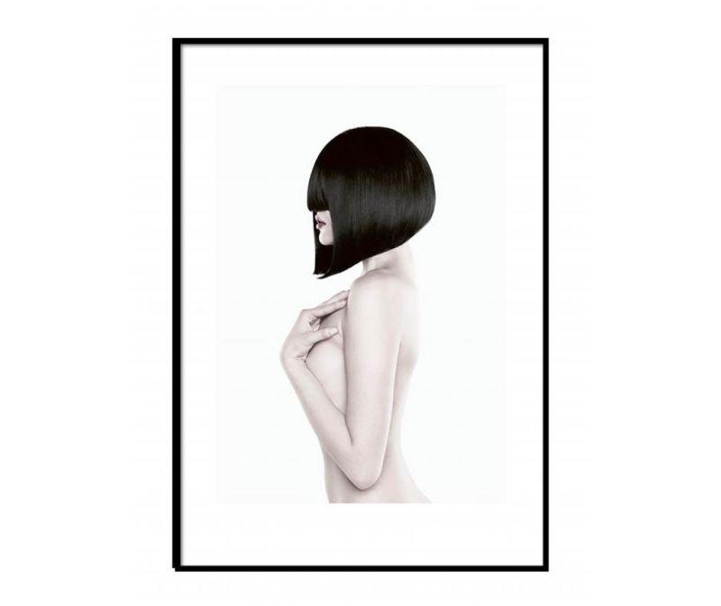 Tablou Black Lady Body 30x40 cm