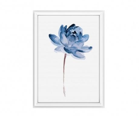 Πίνακας Blue Flower 23x33 cm