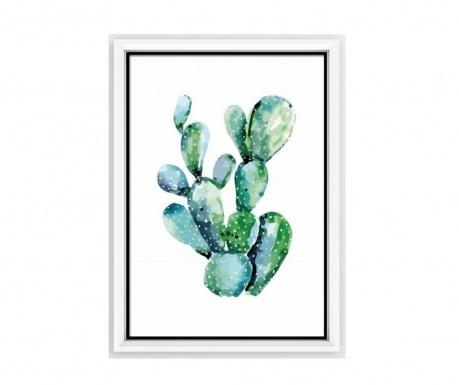 Πίνακας Green Kaktus 23x33 cm