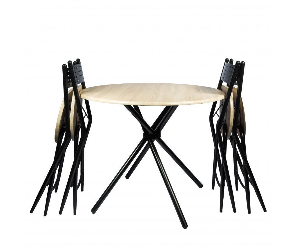 Set stol i 4 stolice za vanjski prostor Kaliope