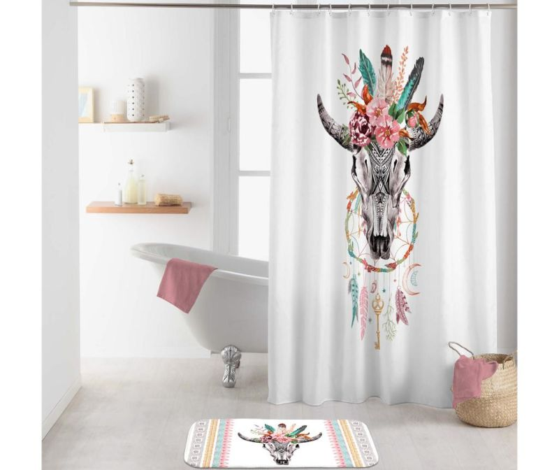 Zavesa za prho Spirit 180x200 cm