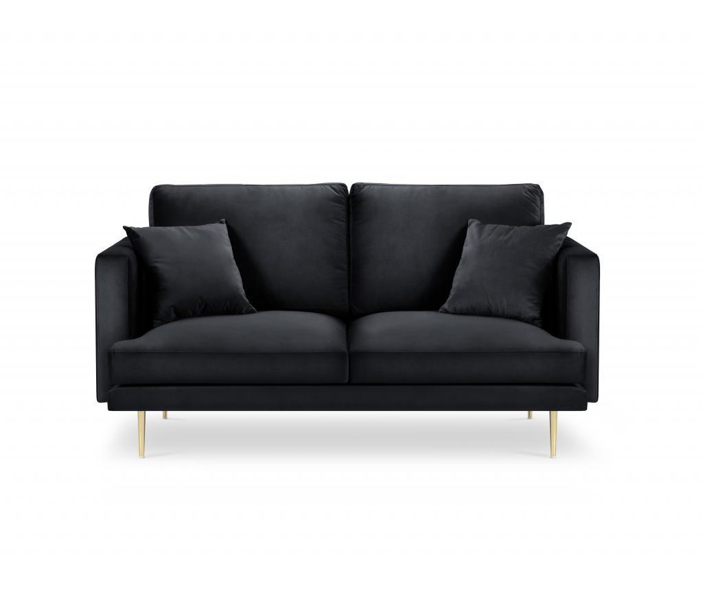 Canapea cu 2 locuri Brunello Dark Blue