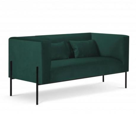 Sofa cu 2 locuri Carla Bottle Green