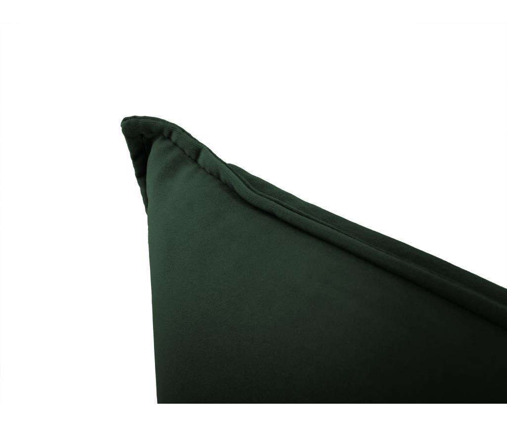 Sofa cu 3 locuri Biagio Bottle Green