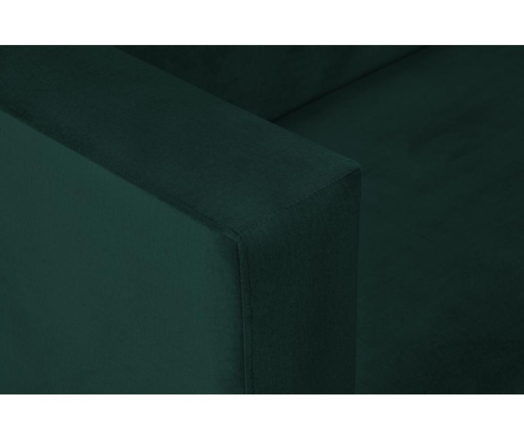 Canapea cu 3 locuri Carla Bottle Green