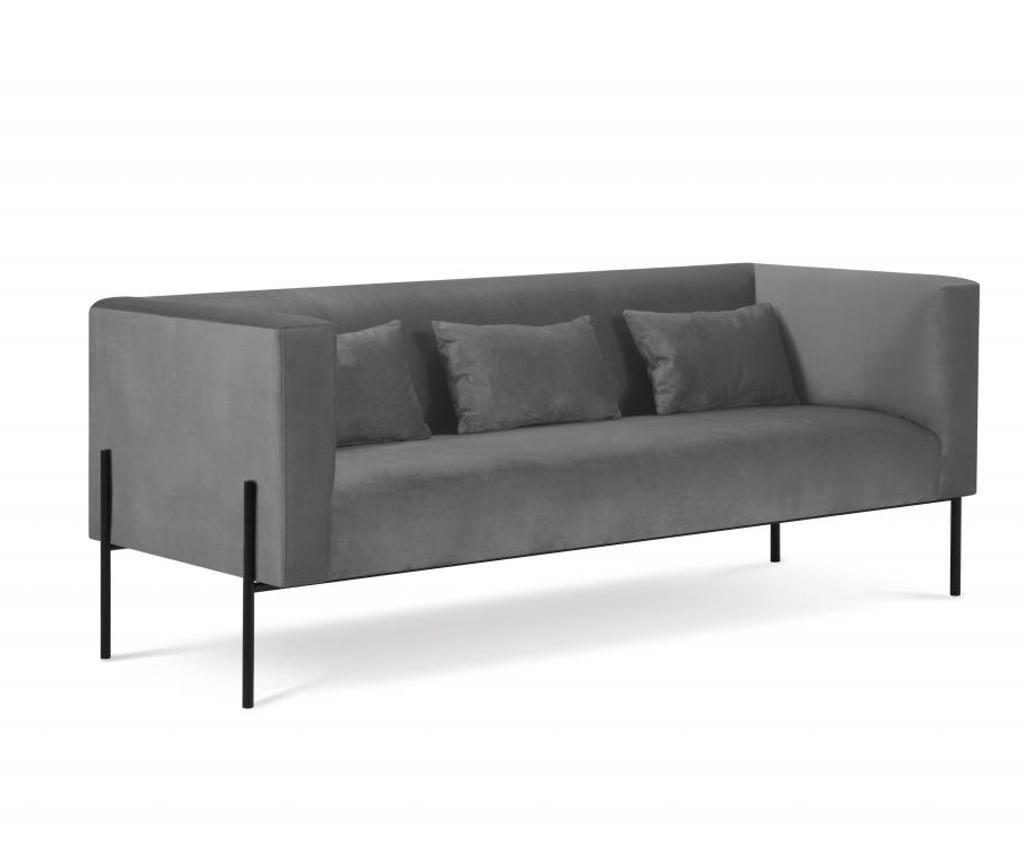 Canapea cu 3 locuri Carla Grey