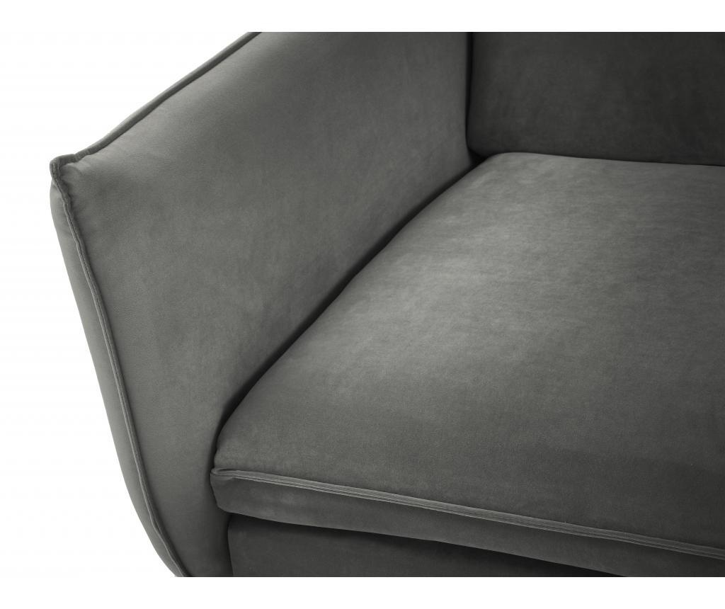Sofa cu 4 locuri Biagio Grey