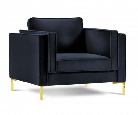 Fotelj Giuseppe Dark Blue