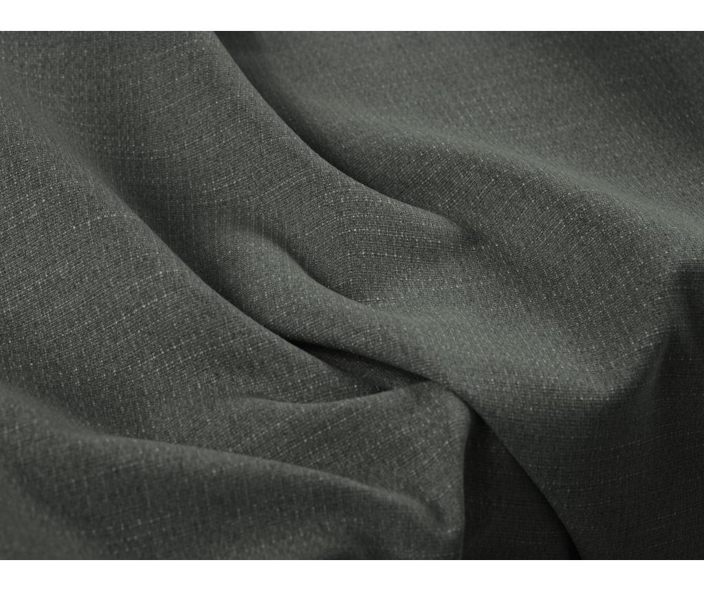 Coltar extensibil stanga Dario Dark Grey