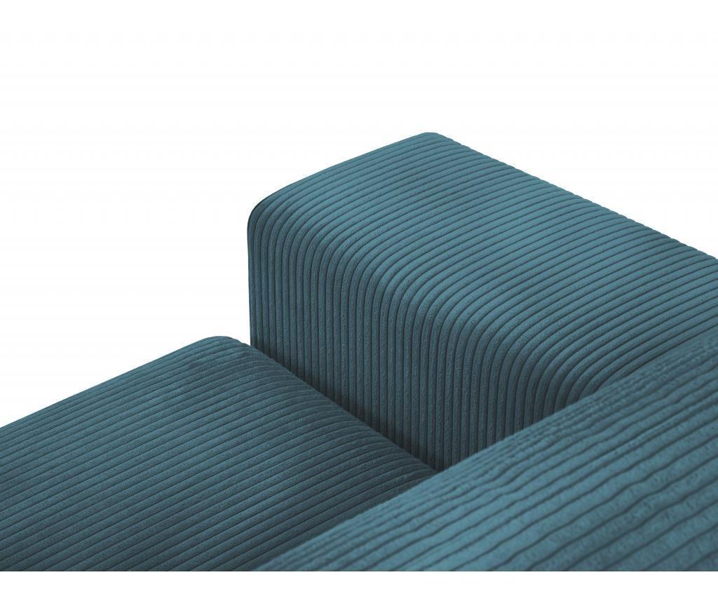 Coltar extensibil stanga Donatella Turquoise