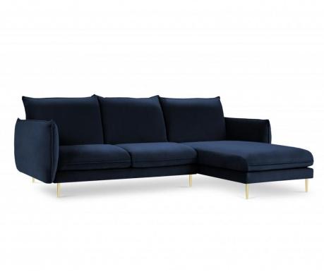 Desna kotna sedežna garnitura Biagio Royal Blue