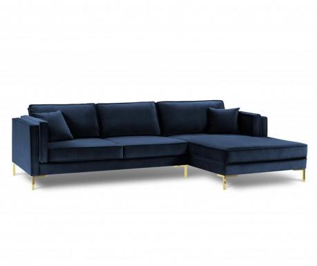Desna kotna sedežna garnitura Giuseppe Royal Blue