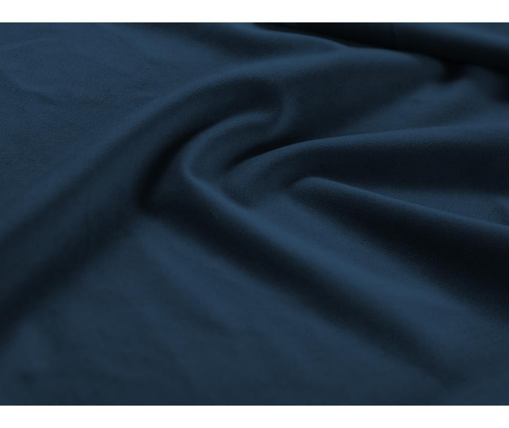 Valentina Royal Blue Jobboldali kihúzható sarokkanapé