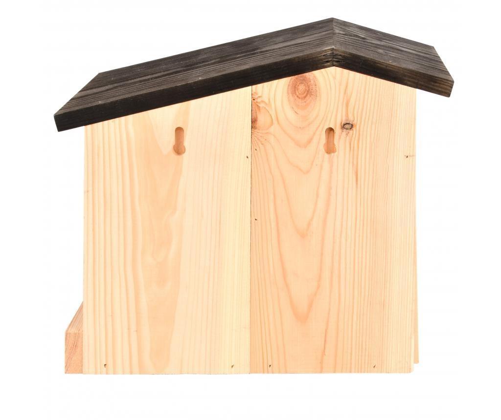 kućica za ptice sa hranilicom