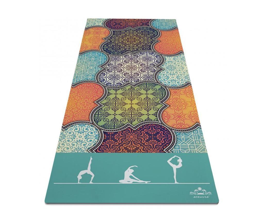 Prostirka za jogu Oriental Beauty 65x185 cm