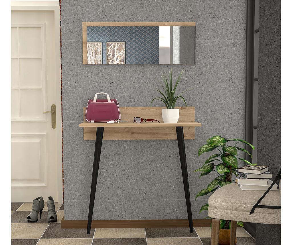 Set konzolna miza in ogledalo