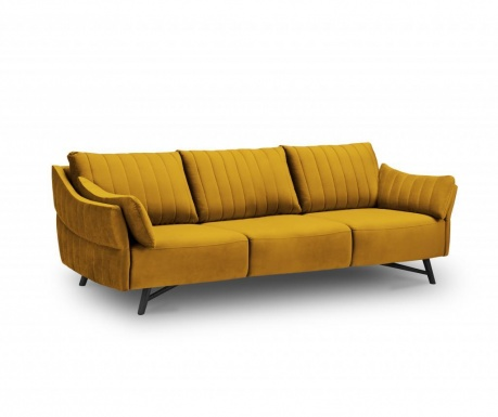 Sofa trosjed Louvres Gold