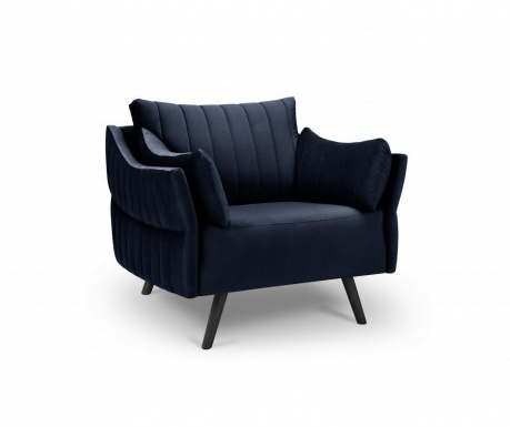 Fotel Louvres Navy Blue