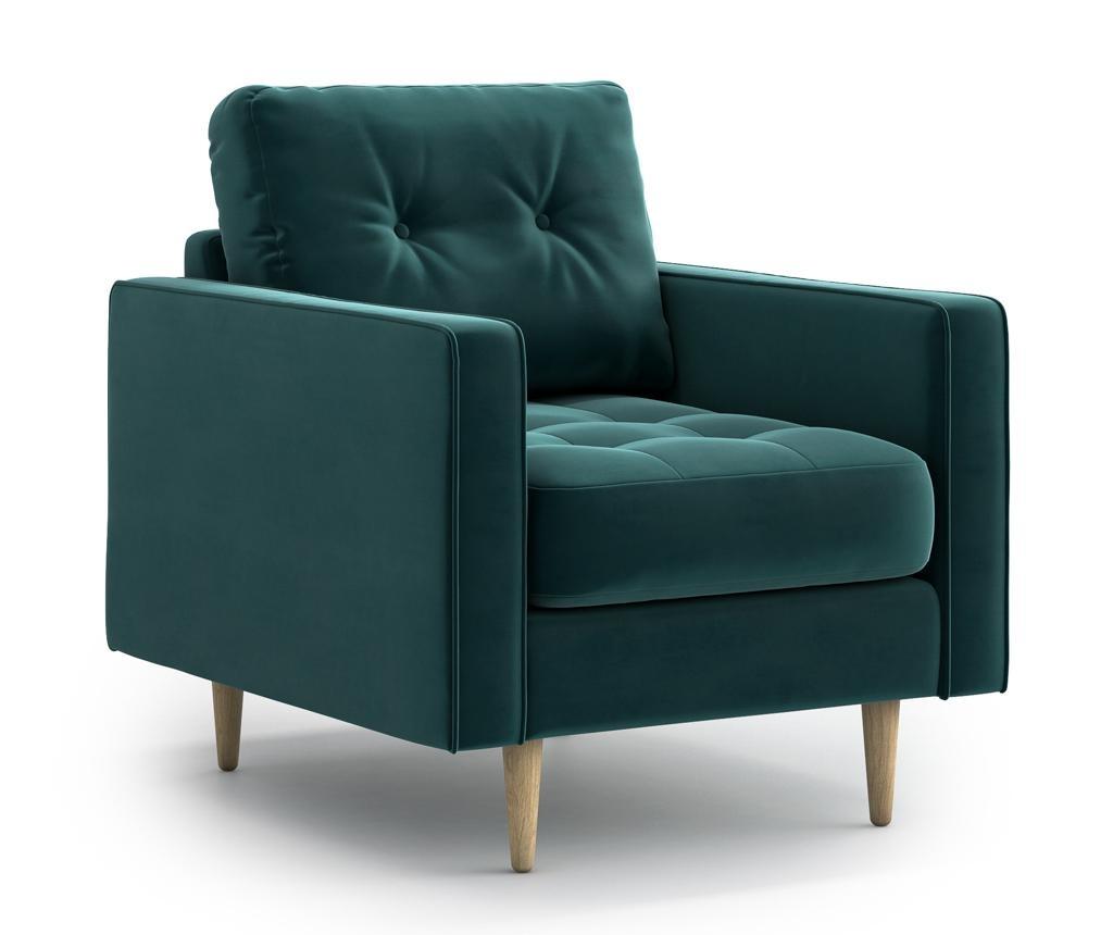 Esme Dark Green Fotel