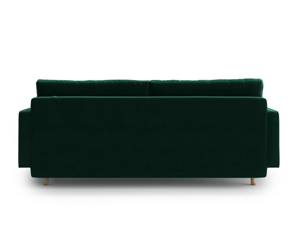 Esme Green Kihúzható háromszemélyes kanapé