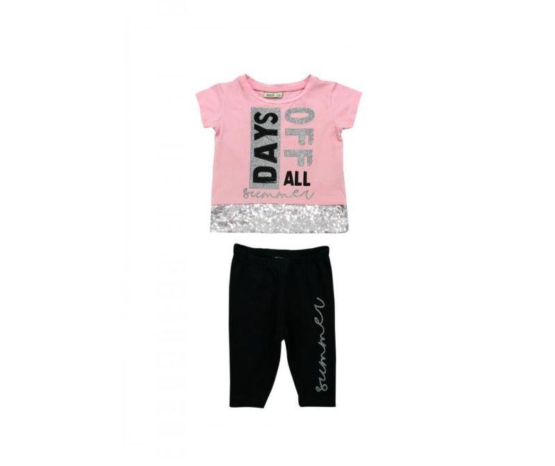 Set tricou si colanti pentru copii 1 year